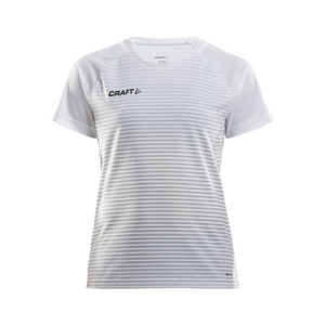 Craft Pro Control Stripe Jersey Women-White-Silver