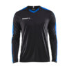 Craft Progress Jersey Contrast LS Men-Black-Club Cobolt