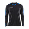 Craft Progress Jersey Contrast LS Men-Black-Royal Blue