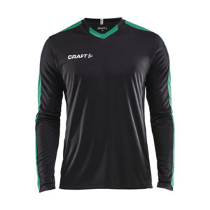 Craft Progress Jersey Contrast LS Men-Black-Team Green