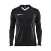 Craft Progress Jersey Contrast LS Men-Black-White