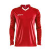 Craft Progress Jersey Contrast LS Men-Bright Red- White