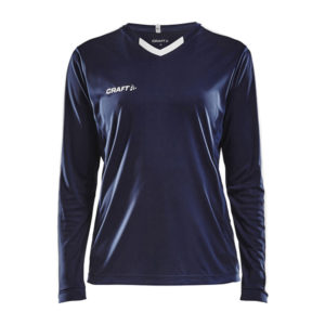Craft Progress Jersey Contrast LS Women-Navy-White