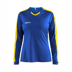 Craft Progress Jersey Contrast LS Women-Royal Blue- Sweden Yellow