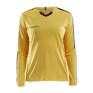 Craft Progress Jersey Contrast LS Women-W-Sweden Yellow-Black
