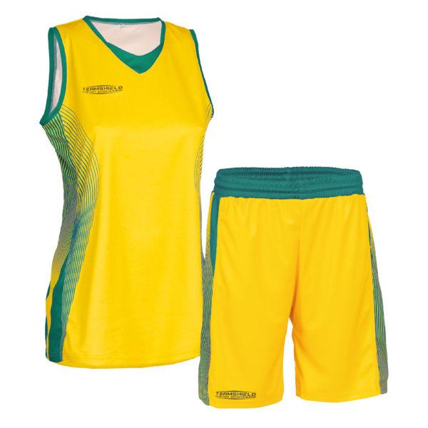 Teamshield-Essential-Basket-Women-Sublimation-Uniform-Shirt-Jersey-Shorts-Custom-Print-Logo