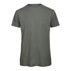 B&C Inspire-T-Men-miesten puuvilla t-paita, väri-Millenial Khaki