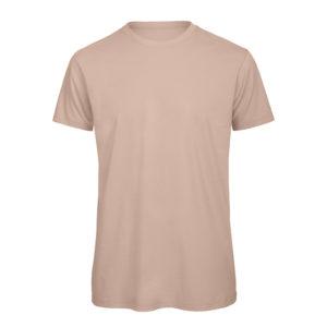 B&C Inspire-T-Men-miesten puuvilla t-paita, väri-Millenial Pink