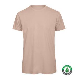 B&C Inspire-T-Men-miesten puuvilla t-paita, väri-Millenial Pink-tuotekuva