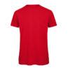 B&C Inspire-T-Men-miesten puuvilla t-paita, väri-Red-punainen