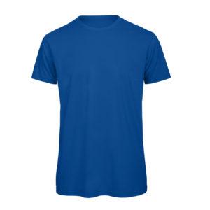 B&C Inspire-T-Men-miesten puuvilla t-paita, väri-Royal Blue-sininen