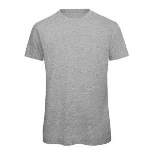 B&C Inspire-T-Men-miesten puuvilla t-paita, väri-Sport Grey