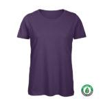 B&C Inspire-T-Women-naisten puuvilla t-paita tuotekuva, väri-Urban Violet - violetti