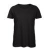 B&C Inspire-T-Women-naisten puuvilla t-paita, väri-Black-musta