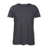 B&C Inspire-T-Women-naisten puuvilla t-paita, väri-Dark Grey- tummanharmaa