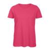 B&C Inspire-T-Women-naisten puuvilla t-paita, väri-Fuchsia-pinkki
