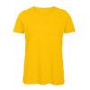 B&C Inspire-T-Women-naisten puuvilla t-paita, väri-Gold-keltainen