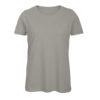 B&C Inspire-T-Women-naisten puuvilla t-paita, väri-Light Grey-vaaleanharmaa