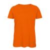 B&C Inspire-T-Women-naisten puuvilla t-paita, väri-Orange-oranssi