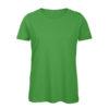 B&C Inspire-T-Women-naisten puuvilla t-paita, väri-Real Green - vihreä