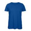 B&C Inspire-T-Women-naisten puuvilla t-paita, väri-Royal Blue- sininen