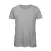 B&C Inspire-T-Women-naisten puuvilla t-paita, väri-Sport Grey -harmaa