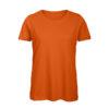 B&C Inspire-T-Women-naisten puuvilla t-paita, väri-Urban Orage- tumma oranssi