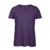 B&C Inspire-T-Women-naisten puuvilla t-paita, väri-Urban Violet - violetti