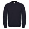 B&C-Cotton-Rich-Sweatshirt-Miesten-Collegepaita-Painatuksella-Black-Musta