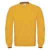 B&C-Cotton-Rich-Sweatshirt-Miesten-Collegepaita-Painatuksella-Chili-Gold