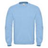 B&C-Cotton-Rich-Sweatshirt-Miesten-Collegepaita-Painatuksella-Light-Blue