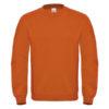 B&C-Cotton-Rich-Sweatshirt-Miesten-Collegepaita-Painatuksella-Orange-Oranssi
