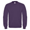 B&C-Cotton-Rich-Sweatshirt-Miesten-Collegepaita-Painatuksella-Radiant-Purple
