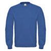 B&C-Cotton-Rich-Sweatshirt-Miesten-Collegepaita-Painatuksella-Royal-Blue-Sininen