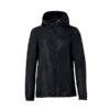 Clique Basic Rain Jacket unisex sadetakki painatuksella-musta