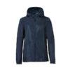 Clique Basic Rain Jacket unisex sadetakki painatuksella-tummansininen