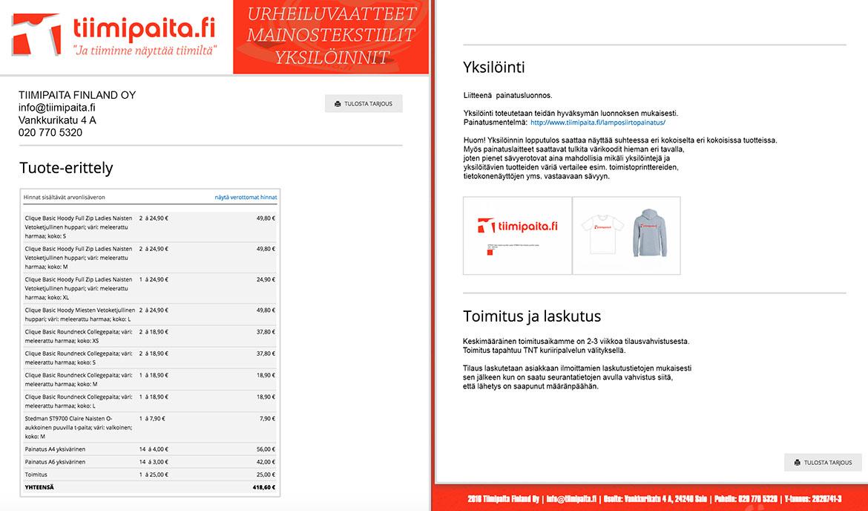 Tilaus-T-paita-Huppari-Painatus-Oma-Logo-Teksti
